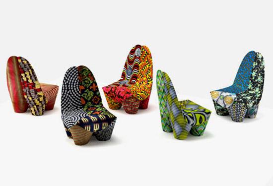 African Prints in Interior Design