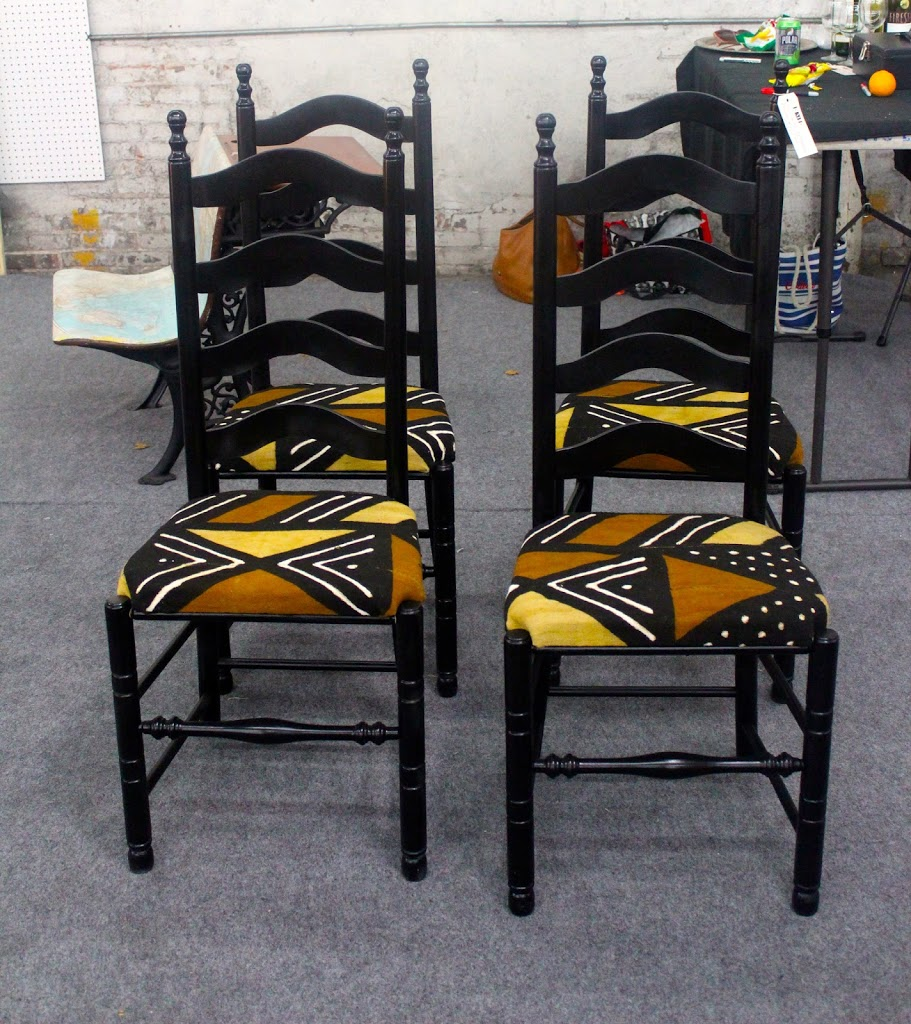 Diy furniture restoration with african prints african for Furniture restoration