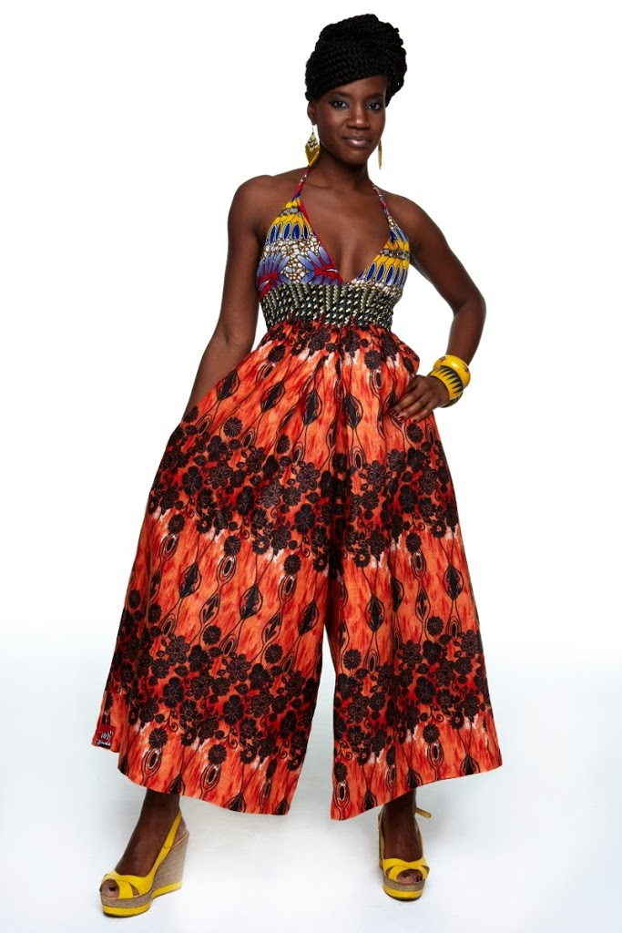 Right now I love Jumpsuits u0026 Rompers | African Prints in Fashion