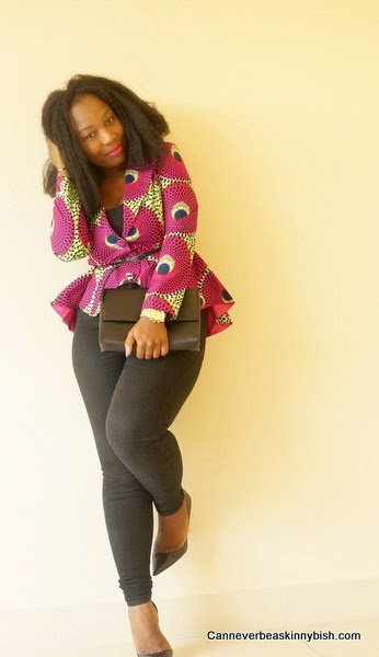 Rock Your Prints In Winter Rahyma African Prints In Fashion
