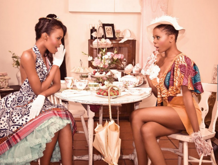 Still in love with: Gossip Girls - Africa-inspired Fashion Shoot