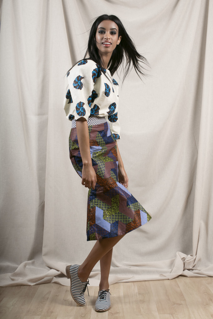 apif__ifescloste_Snail Boxy Top + Peplum Skirt