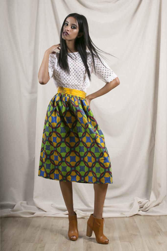 apif__ifescloste_White Top + Aline Skirt