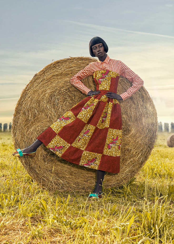 African Fashion Hits The Hay African Prints In Fashion