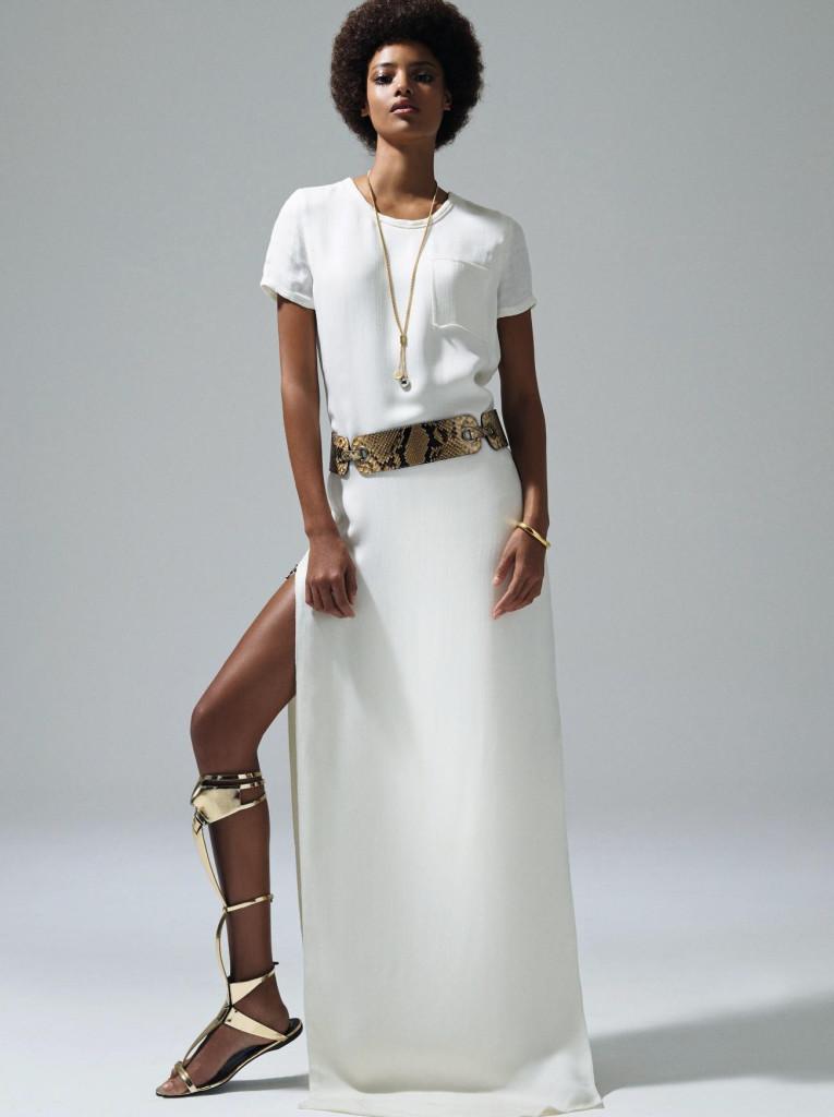 African Models on the Runway: Malaika Firth