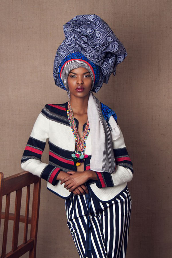 "Stunning: ""The Head Dress"" 