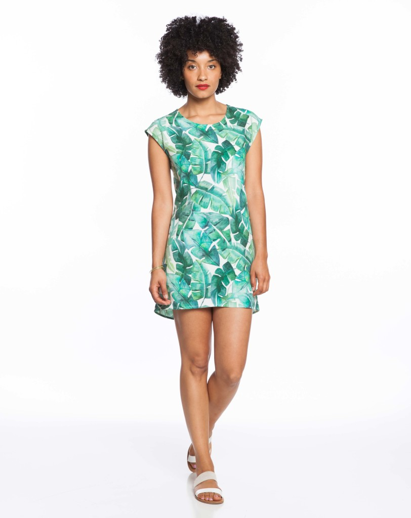 It S Summer Hello Palm Leaf Print African Prints In Fashion