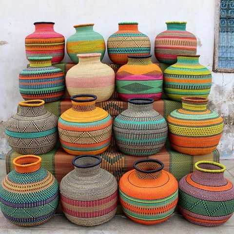 What S Trending Baskets African Prints In Fashion